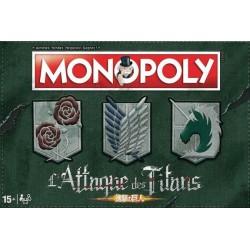 MONOPOLY ATTACK ON TITAN - Jeux de Société au prix de 44,95€