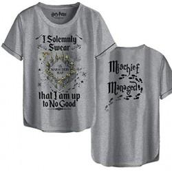 TSHIRT HARRY POTTER I SOLEMNLY SWEAR TAILLE M - Textile au prix de 19,95€