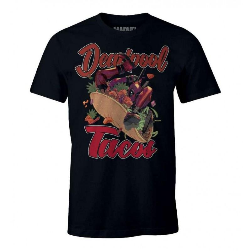 TSHIRT DEADPOOL TACOS TAILLE L - Textile au prix de 19,95€