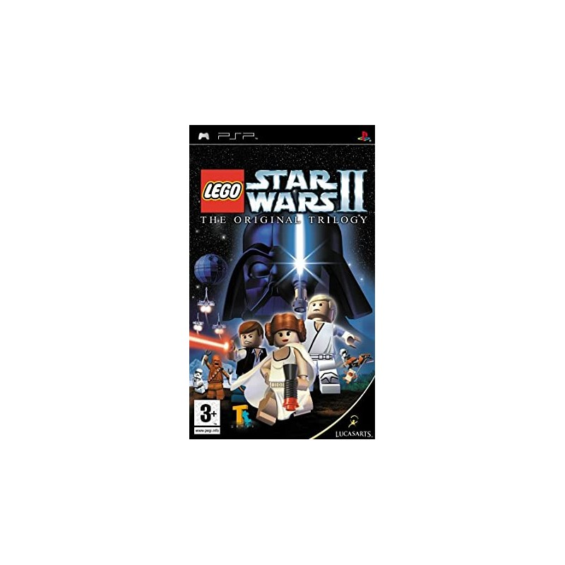 PSP LEGO STAR WARS 2 LA TRILOGIE ORIGINALE - Jeux PSP au prix de 9,95€