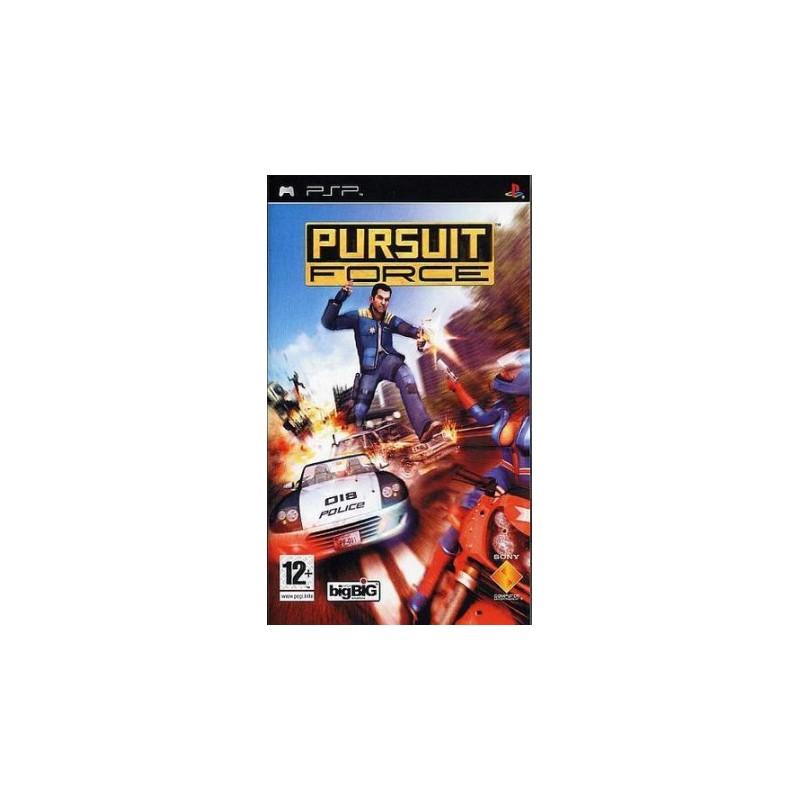 PSP PURSUIT FORCE - Jeux PSP au prix de 4,95€