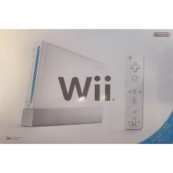 CONSOLE WII BLANCHE EN BOITE (IMPORT JAP) - Consoles Wii au prix de 29,95€