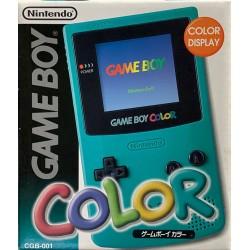 CONSOLE GAMEBOY COLOR BLEU EN BOITE (IMPORT JAP) - Consoles Game Boy au prix de 74,95€