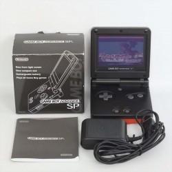 CONSOLE GAMEBOY ADVANCE SP NOIR EN BOITE (IMPORT JAP) - Consoles Game Boy Advance au prix de 94,95€
