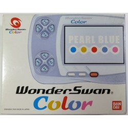 CONSOLE WONDERSWAN BLUE METALLIC EN BOITE (IMPORT JAP) - WonderSwan au prix de 69,95€