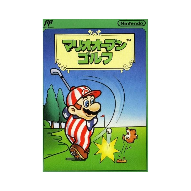 NES MARIO OPEN GOLF FAMICOM (IMPORT JAP) - Jeux NES au prix de 14,95€
