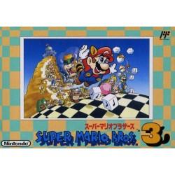 NES SUPER MARIO BROS 3 FAMICOM (IMPORT JAP) - Jeux NES au prix de 19,95€