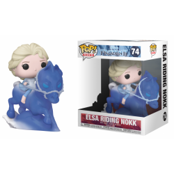 POP DISNEY REINE DES NEIGES 2 74 ELSA CHEVAUCHANT NOKK - Figurines POP au prix de 29,95 €