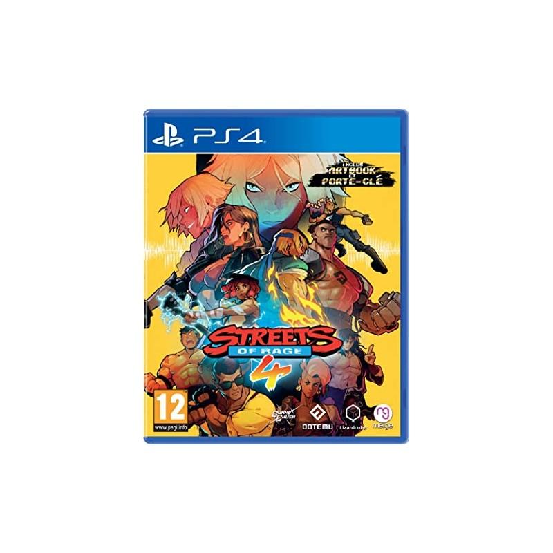 PS4 STREETS OF RAGE 4 - Jeux PS4 au prix de 34,95€