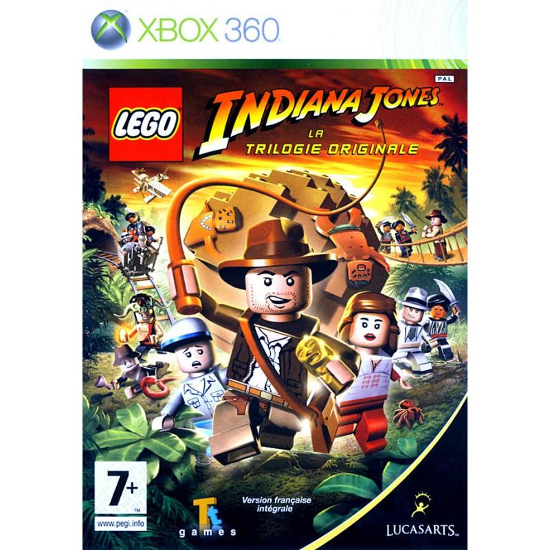 X360 LEGO INDIANA JONES LA TRILOGIE ORIGINALE - Jeux Xbox 360 au prix de 14,95€