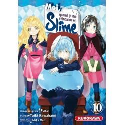 MOI QUAND JE ME REINCARNE EN SLIME T10 - Manga au prix de 7,95€