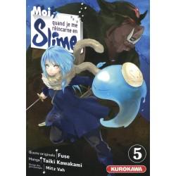 MOI QUAND JE ME REINCARNE EN SLIME T05 - Manga au prix de 7,65€
