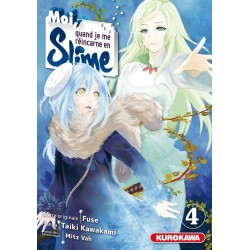 MOI QUAND JE ME REINCARNE EN SLIME T04 - Manga au prix de 7,65€
