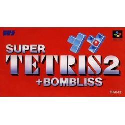 SN SUPER TETRIS 2 + BOMBLISS SUPER FAMICOM (IMPORT JAP) - Jeux Super NES au prix de 12,95€