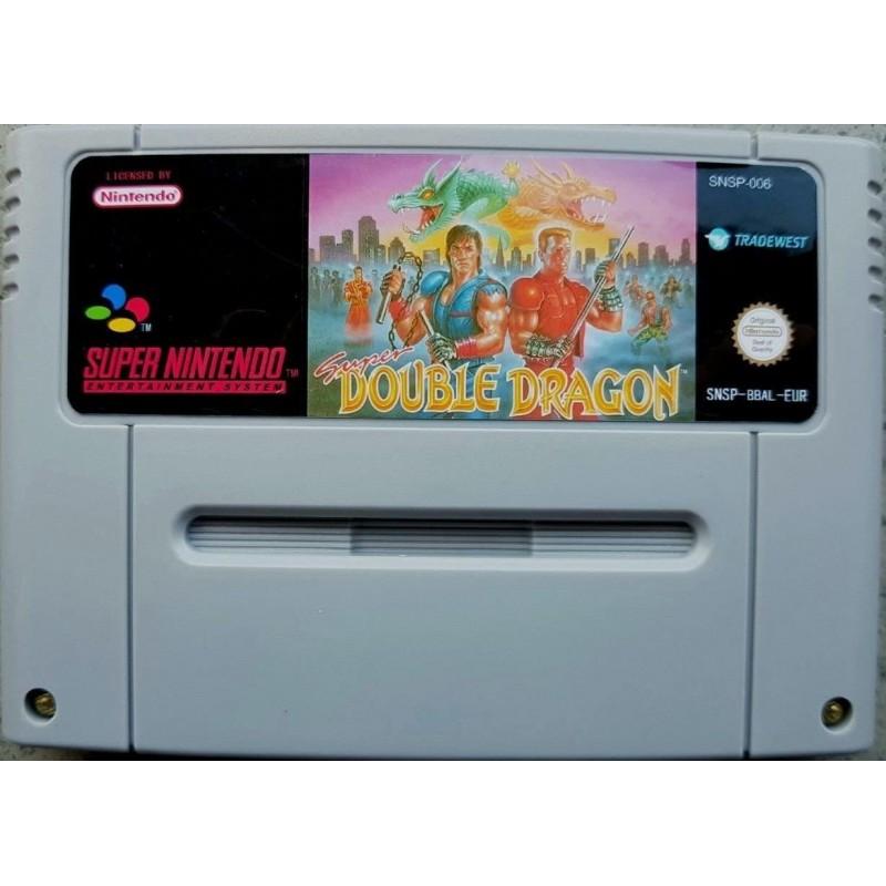 SN SUPER DOUBLE DRAGON (LOOSE) - Jeux Super NES au prix de 19,95€