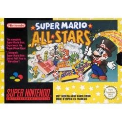 SN SUPER MARIO ALL STARS (SANS NOTICE) - Jeux Super NES au prix de 19,95€