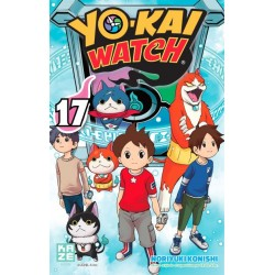 YOKAI WATCH T17 - Manga au prix de 6,89€