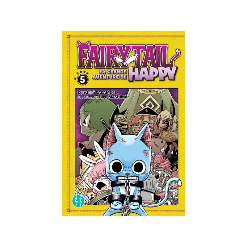 FAIRY TAIL LA GRANDE AVENTURE DE HAPPY T05 - Manga au prix de 6,95€