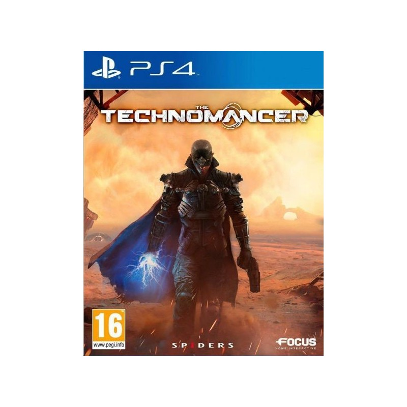 PS4 THE TECHNOMANCER OCC - Jeux PS4 au prix de 9,95€