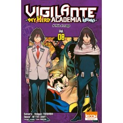 MY HERO ACADEMIA VIGILANTE T08 - Manga au prix de 6,90€
