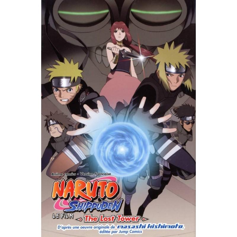 NARUTO SHIPPUDEN - LE FILM THE LOST TOWER - Manga au prix de 8,70€