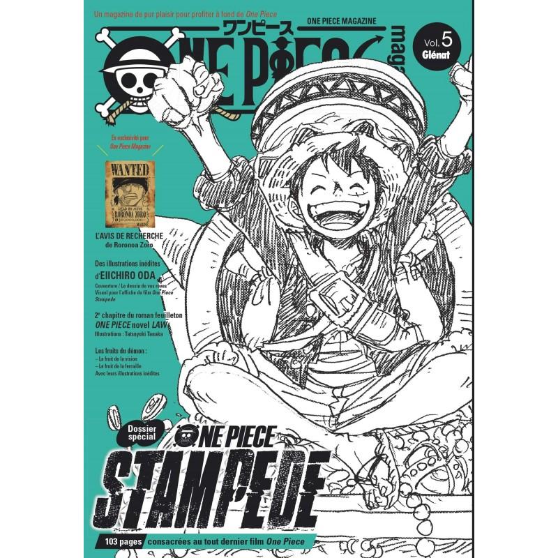 ONE PIECE MAGAZINE VOL 5 - Manga au prix de 19,90€