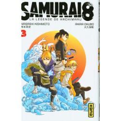 SAMURAI 8 T03 - Manga au prix de 6,85€