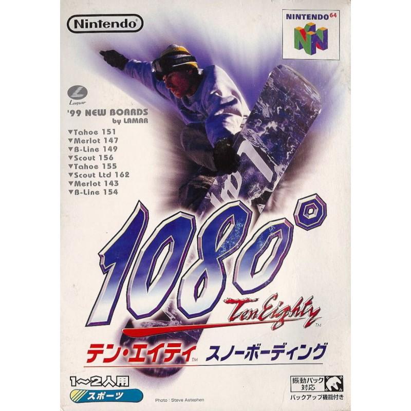 N64 1080 SNOWBOARDING (IMPORT JAP) - Jeux Nintendo 64 au prix de 12,95€
