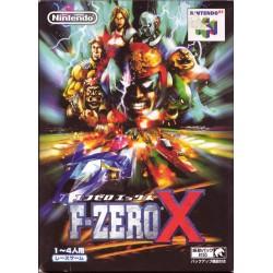 N64 F ZERO X (IMPORT JAP) - Jeux Nintendo 64 au prix de 24,95€