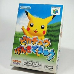 N64 HEY YOU PIKACHU PIKACHU GENKI DECHU (IMPORT JAP) - Jeux Nintendo 64 au prix de 29,95€