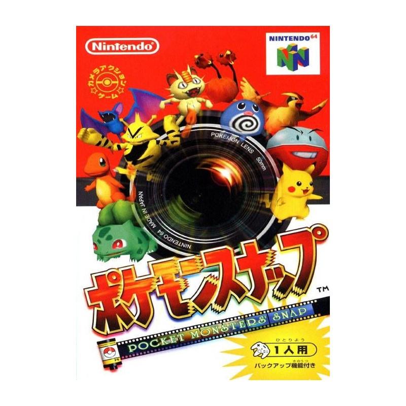 N64 POKEMON SNAP (IMPORT JAP) - Jeux Nintendo 64 au prix de 19,95€
