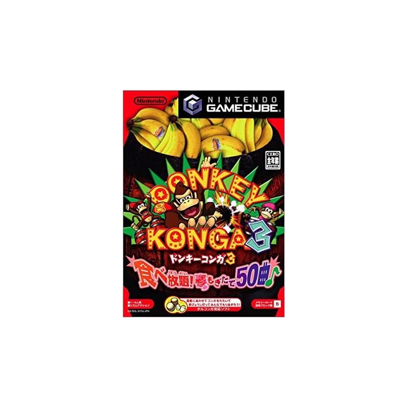 GC DONKEY KONGA 3 (IMPORT JAP) - Jeux GameCube au prix de 24,95€