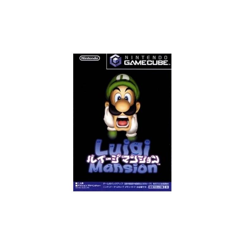 GC LUIGI S MANSION (IMPORT JAP) - Jeux GameCube au prix de 19,95€