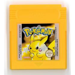 GB POKEMON JAUNE (LOOSE) - Jeux Game Boy au prix de 14,95€