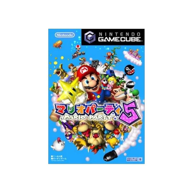 GC MARIO PARTY 5 (IMPORT JAP) - Jeux GameCube au prix de 14,95€