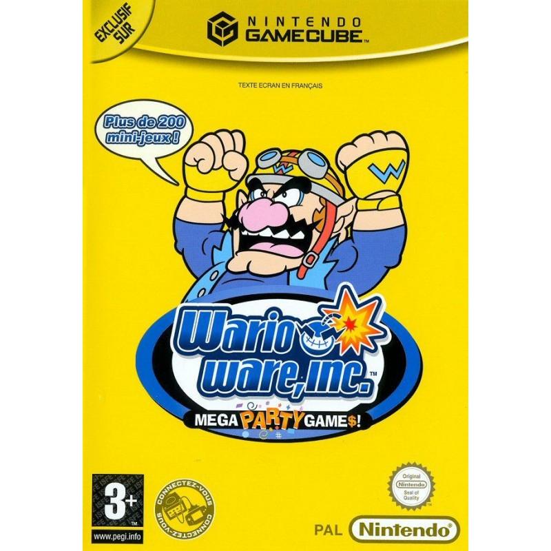 GC WARIO WARE INC - Jeux GameCube au prix de 24,95€