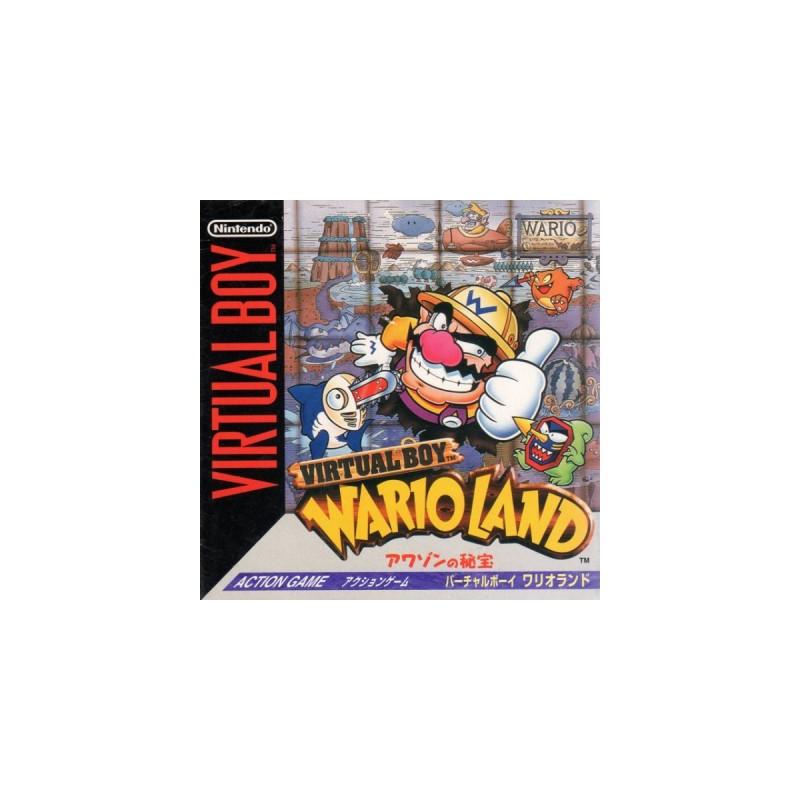 VB WARIO LAND (IMPORT JAP) - Virtual Boy au prix de 49,95€
