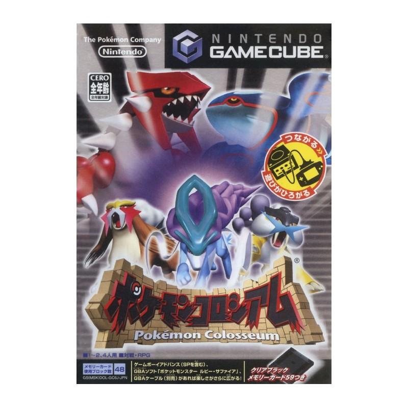 GC POKEMON COLOSSEUM (IMPORT JAP) - Jeux GameCube au prix de 19,95€
