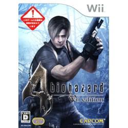 WII RESIDENT EVIL 4 (IMPORT JAP) - Jeux Wii au prix de 4,95€