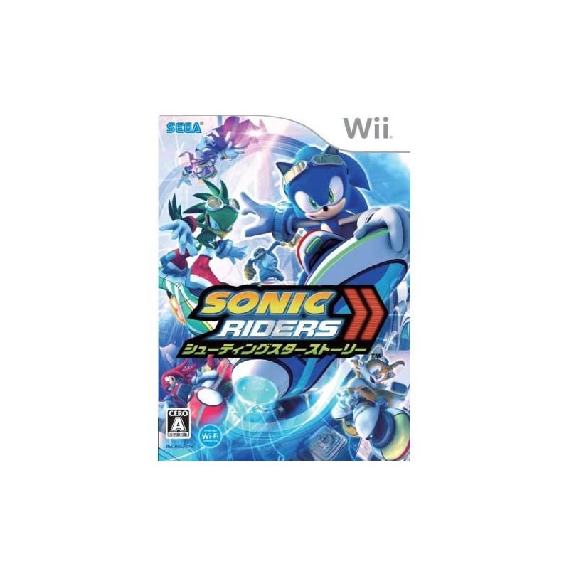 WII SONIC RIDERS ZERO GRAVITY (IMPORT JAP) - Jeux Wii au prix de 7,95€