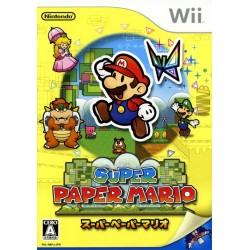 WII SUPER PAPER MARIO (IMPORT JAP) - Jeux Wii au prix de 12,95€