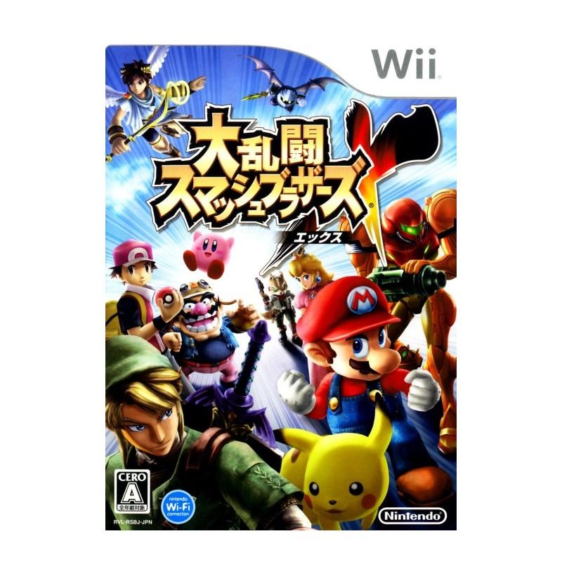 WII SUPER SMASH BROS BRAWL (IMPORT JAP) - Jeux Wii au prix de 9,95€