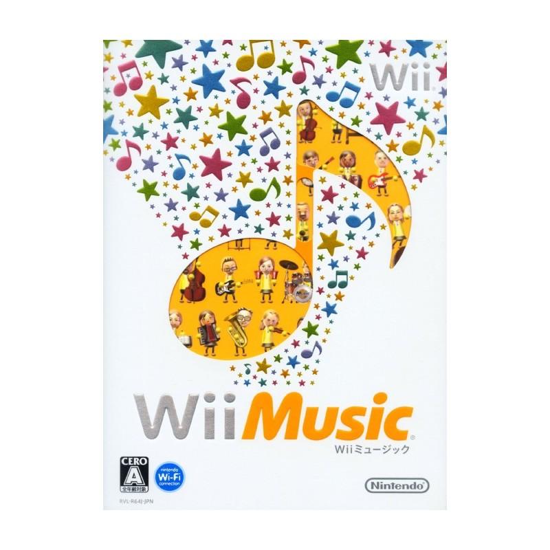 WII WII MUSIC (IMPORT JAP) - Jeux Wii au prix de 2,95€