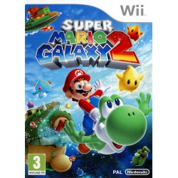 WII SUPER MARIO GALAXY 2 - Jeux Wii au prix de 14,95€