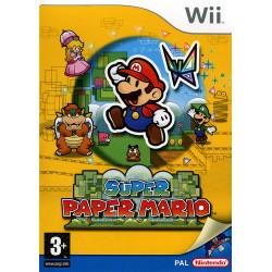 WII SUPER PAPER MARIO - Jeux Wii au prix de 14,95€
