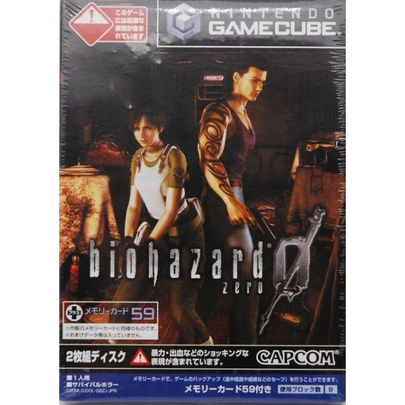GC BIOHAZARD ZERO (IMPORT JAP) - Jeux GameCube au prix de 12,95€