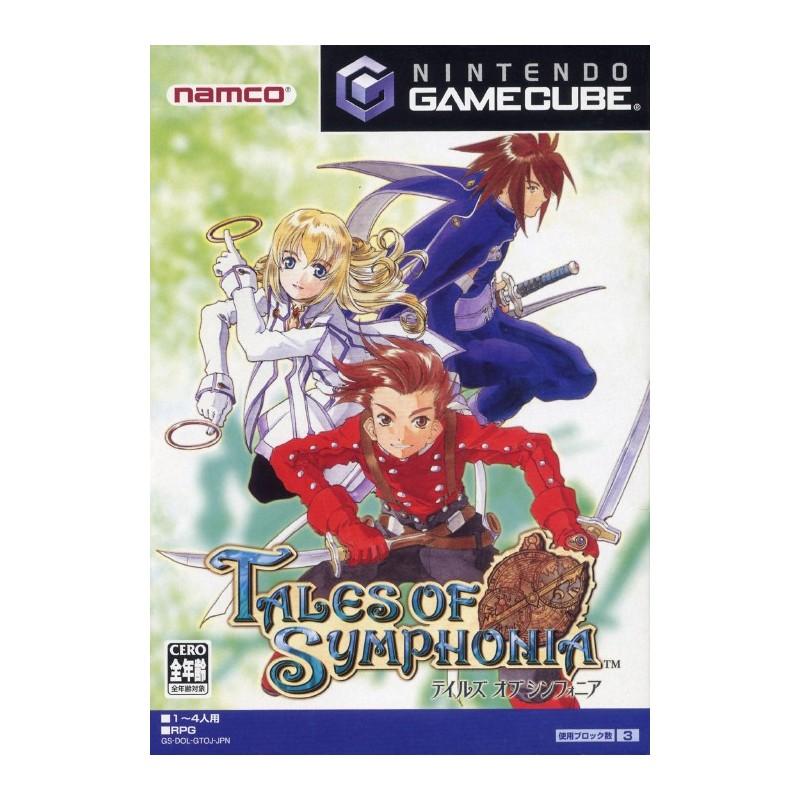 GC TALES OF SYMPHONIA (IMPORT JAP) - Jeux GameCube au prix de 9,95€