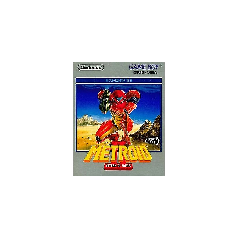 GB METROID II RETURN OF SAMUS (IMPORT JAP) - Jeux Game Boy au prix de 29,95€