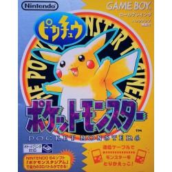 GB POKEMON JAUNE (IMPORT JAP) - Jeux Game Boy au prix de 39,95€
