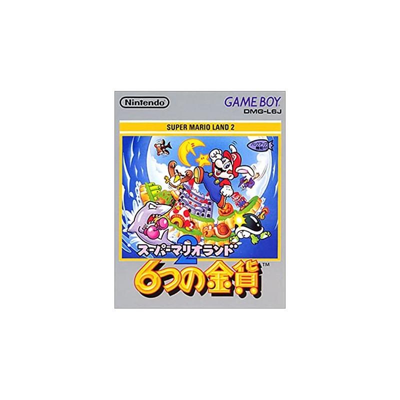GB SUPER MARIO LAND 2 (IMPORT JAP) - Jeux Game Boy au prix de 19,95€